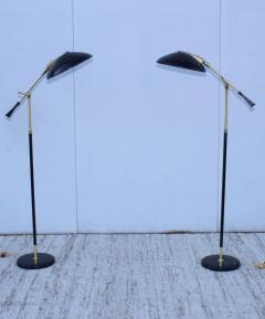 Gerald Thurston Gerald Thurston For Lightolier Brass Floor Lamps - 1794300