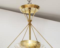Gerald Thurston Gerald Thurston For Lightolier Mid Century Modern Brass Chandelier  - 1041935