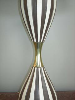 Gerald Thurston Pair of Harlequin Table Lamps by Gerald Thurston - 211166