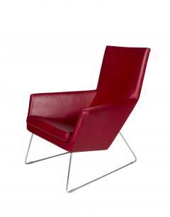 Gerald Van Den Berg Pair of Don Lounge Chairs - 195456