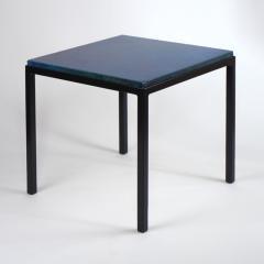 Gerard Simo n BLUE GLAZED CERAMIC SIDE TABLE 41 - 2100034