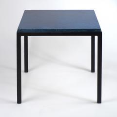 Gerard Simo n BLUE GLAZED CERAMIC SIDE TABLE 41 - 2100035