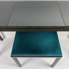 Gerard Simo n BRONZE GREEN GLAZED LAVA STONE CONSOLE - 1957680