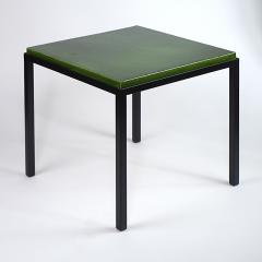 Gerard Simo n GREEN GLAZED CERAMIC SIDE TABLE 41 - 2100030