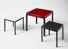 Gerard Simo n GREEN GLAZED CERAMIC SIDE TABLE 41 - 2100033