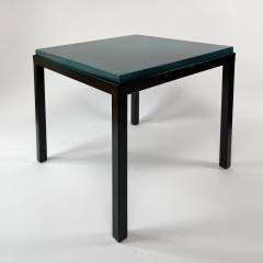 Gerard Simo n TURQUOISE GLAZED LAVA STONE SIDE TABLE - 1957650