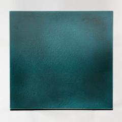 Gerard Simo n TURQUOISE GLAZED LAVA STONE SIDE TABLE - 1957651