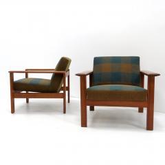 Gerhard Berg Gerhard Berg Kubus Lounge Chairs 1960 - 1136829
