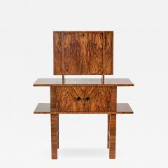German Art Deco Bar Cabinet In Bolivian Rosewood And Birch   743645
