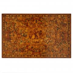 German Baroque centre table with marquetry inlays - 1577205
