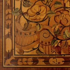 German Baroque centre table with marquetry inlays - 1577206