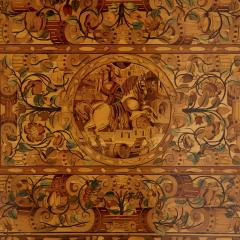 German Baroque centre table with marquetry inlays - 1577208