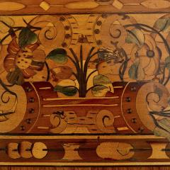 German Baroque centre table with marquetry inlays - 1577210