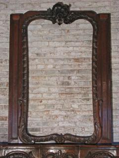 German Louis XV 18th century Rococo Fireplace Mantel - 655739