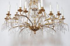 German Neoclassic Ormolu and Cut Glass Twenty Four Light Chandelier circa 1795 - 1983922