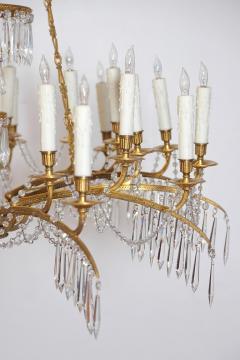 German Neoclassic Ormolu and Cut Glass Twenty Four Light Chandelier circa 1795 - 1983923
