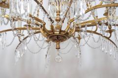 German Neoclassic Ormolu and Cut Glass Twenty Four Light Chandelier circa 1795 - 1983926