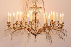 German Neoclassic Ormolu and Cut Glass Twenty Four Light Chandelier circa 1795 - 1983927