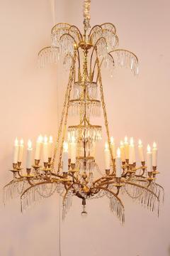 German Neoclassic Ormolu and Cut Glass Twenty Four Light Chandelier circa 1795 - 1983928