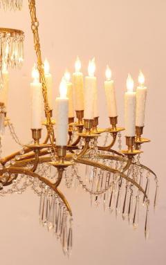 German Neoclassic Ormolu and Cut Glass Twenty Four Light Chandelier circa 1795 - 1983930