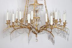 German Neoclassic Ormolu and Cut Glass Twenty Four Light Chandelier circa 1795 - 1983932