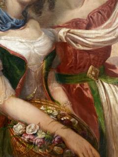 German School Bavarian Flower Girls  - 1864810