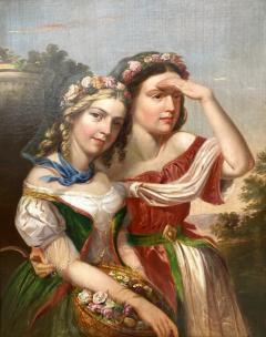 German School Bavarian Flower Girls  - 1864811