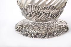 German Silver Mounted Cut Glass Pair Claret Jugs - 1948897