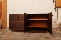 Germano Marchetti Tramonto Smoked Eucalyptus and Etimoe Wood Sideboard - 1263630