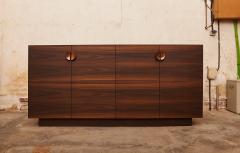 Germano Marchetti Tramonto Smoked Eucalyptus and Etimoe Wood Sideboard - 1263631