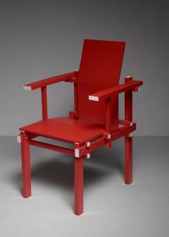 Gerrit Rietveld Red Gerrit Rietveld armchair The Netherlands 1974 - 767239