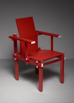Gerrit Rietveld Red Gerrit Rietveld armchair The Netherlands 1974 - 767240