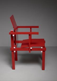 Gerrit Rietveld Red Gerrit Rietveld armchair The Netherlands 1974 - 767241
