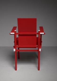 Gerrit Rietveld Red Gerrit Rietveld armchair The Netherlands 1974 - 767242