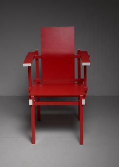 Gerrit Rietveld Red Gerrit Rietveld armchair The Netherlands 1974 - 767243