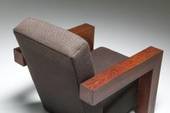 Gerrit Rietveld Rietvelds Utrecht Chair with Wooden Frame 1960s - 1585575