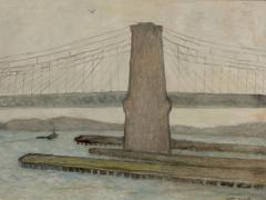 Gershon Benjamin Brooklyn Bridge II  - 892169