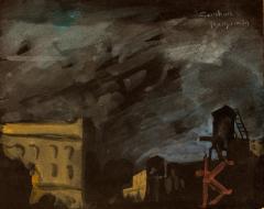 Gershon Benjamin City at Night  - 1010900