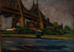 Gershon Benjamin George Washington Bridge The Musician Reverse  - 925571