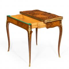Gervais Durand Pair of kingwood card tables by G Durand - 754491