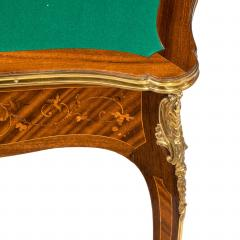 Gervais Durand Pair of kingwood card tables by G Durand - 754492