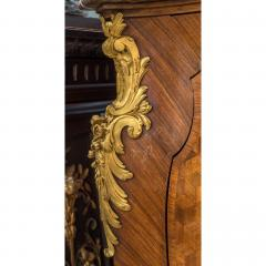 Gervais Maximilien Eug ne Durand Louis XV Style Gilt Bronze Mounted Kingwood Marble Top Commode - 1990617
