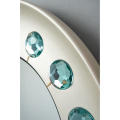 Ghir Studio Ghiro Studio Mirror with Faceted Diamond Cut Glass Italy 2019 - 1342393