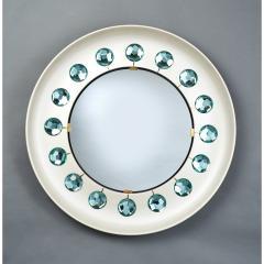 Ghir Studio Ghiro Studio Mirror with Faceted Diamond Cut Glass Italy 2019 - 1342403