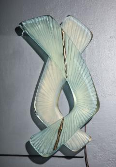 Ghir Studio Pair of Studio Made Carved Sconces by Ghir Studio - 831319