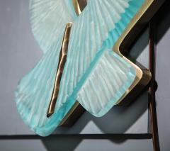 Ghir Studio Pair of Studio Made Carved Sconces by Ghir Studio - 831321