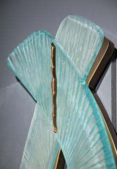 Ghir Studio Pair of Studio Made Carved Sconces by Ghir Studio - 831322