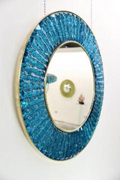 Ghir Studio The Studio Mirror in Blue by Ghiro - 268191