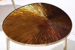 Ghir Studio Tris Gold Nest of Tables by Ghir Studio - 1459317