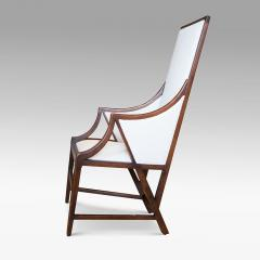 Giacomo Cometti Highly Sculptural Armchair in Oak by Giacomo Cometti - 1084380